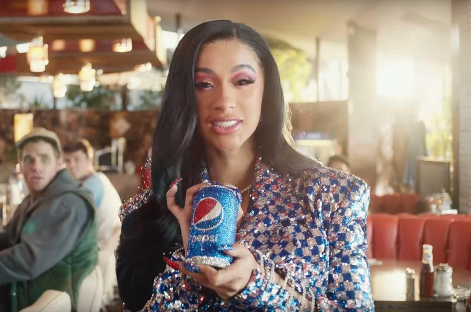Cardi B, Lil Jon & Steve Carrell In Pepsi Super Bowl intended for Cardi B Super Bowl 2019