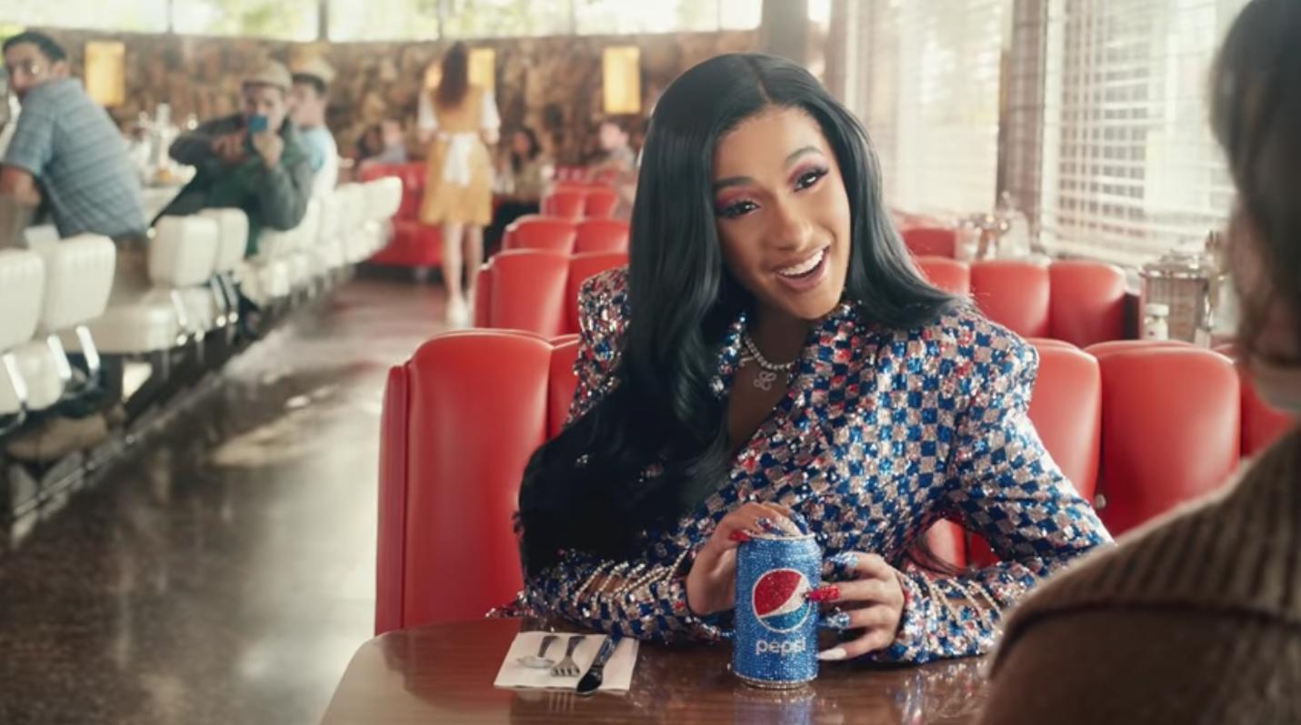 Cardi B Stars In Super Bowl Ad For Pepsi: Watch - Stereogum pertaining to Cardi B Super Bowl