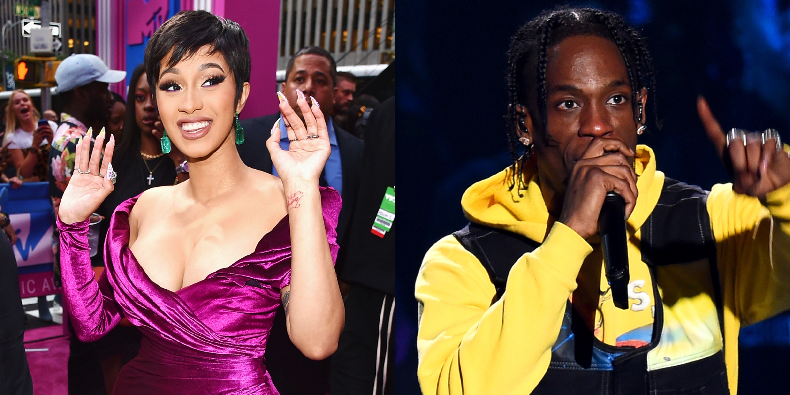 Cardi B, Travis Scott Rumored To Perform At 2019 Super Bowl within Travis Scott Super Bowl 2019