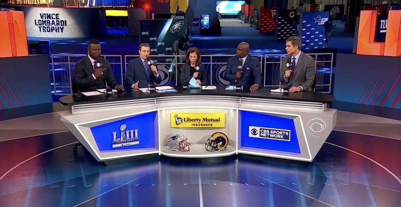 Cbs Sports Begins Super Bowl Week From Atlanta - Newscaststudio inside Cbs Super Bowl 2019