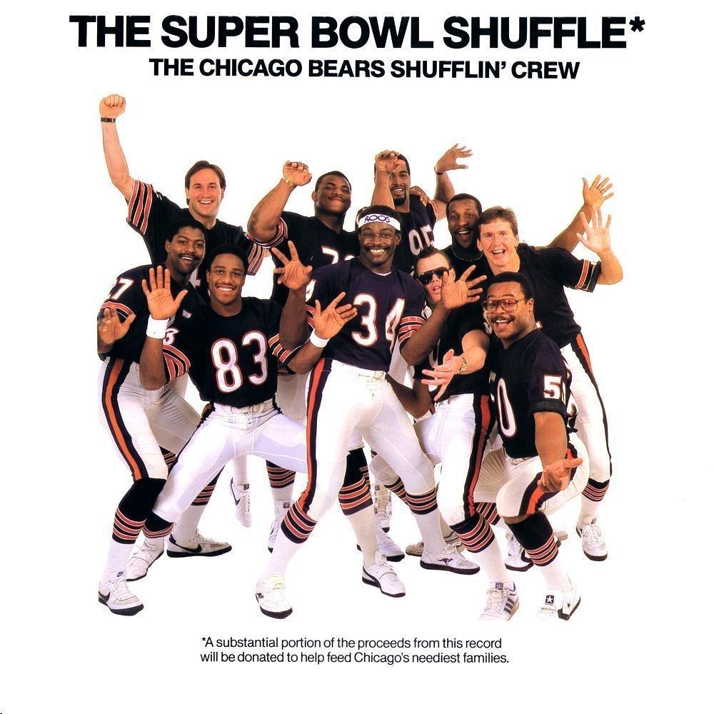Chicago Bears Shufflin' Crew – The Super Bowl Shuffle Lyrics with The Super Bowl Shuffle