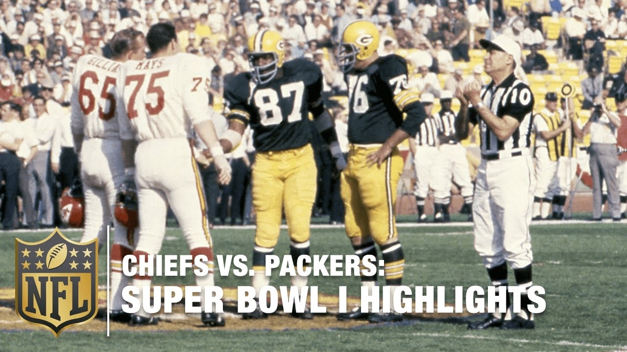 Chiefs Vs. Packers | Super Bowl I Highlights | 50 Years Of Glory | Nfl pertaining to The First Super Bowl