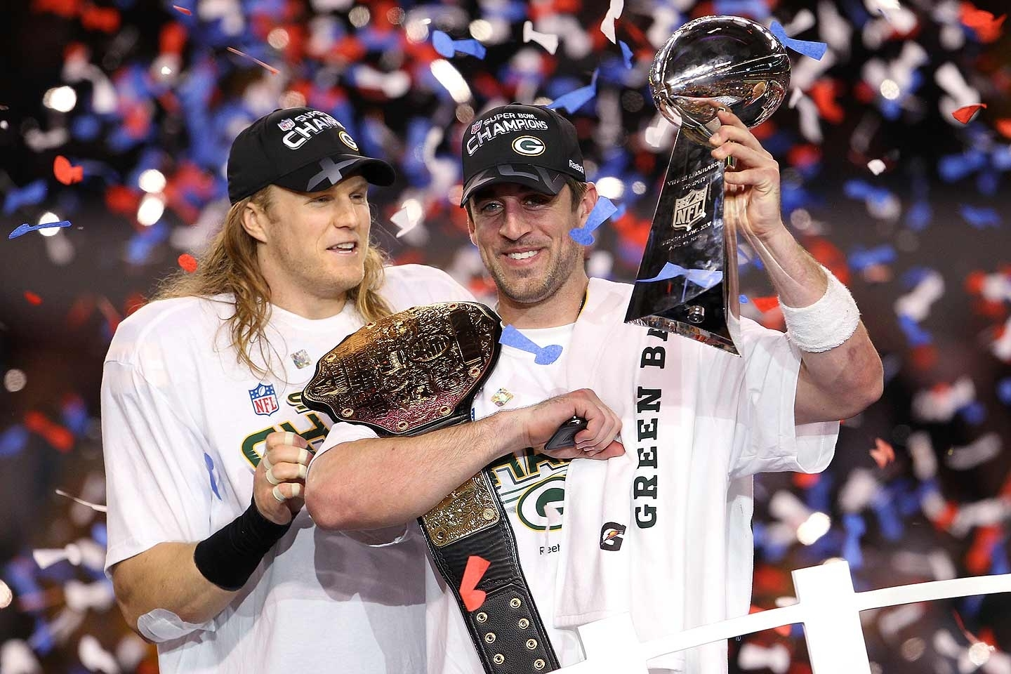 Clay Matthews And Aaron Rodgers - Super Bowl Xlv - Espn inside Aaron Rodgers Super Bowl