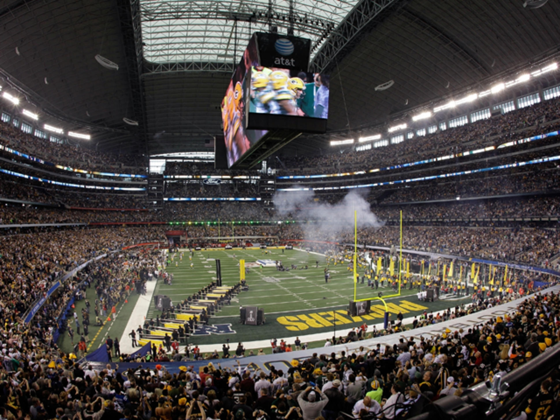Cowboys Stadium Fails To Break Super Bowl Record - Nbc 5 in Super Bowl Xlv Seating Problems