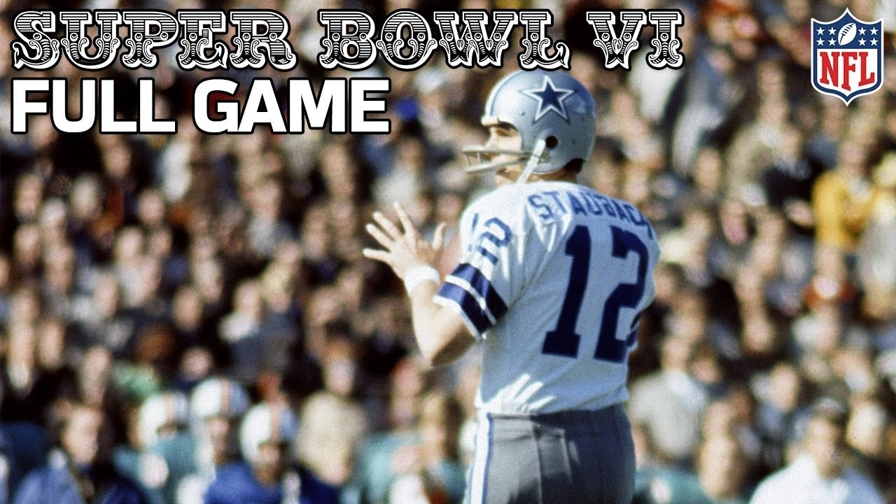Cowboys Win Their First Super Bowl! | Cowboys Vs. Dolphins Super Bowl Vi |  Nfl Full Game with regard to Cowboys Last Super Bowl