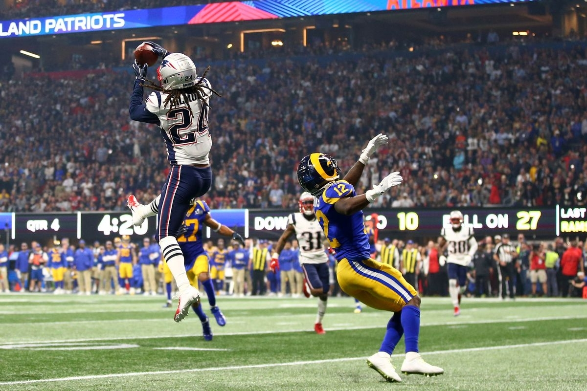 Defensivschlacht Beim Super Bowl Liii | Dacia Vikings regarding Patriots Rams Super Bowl Liii