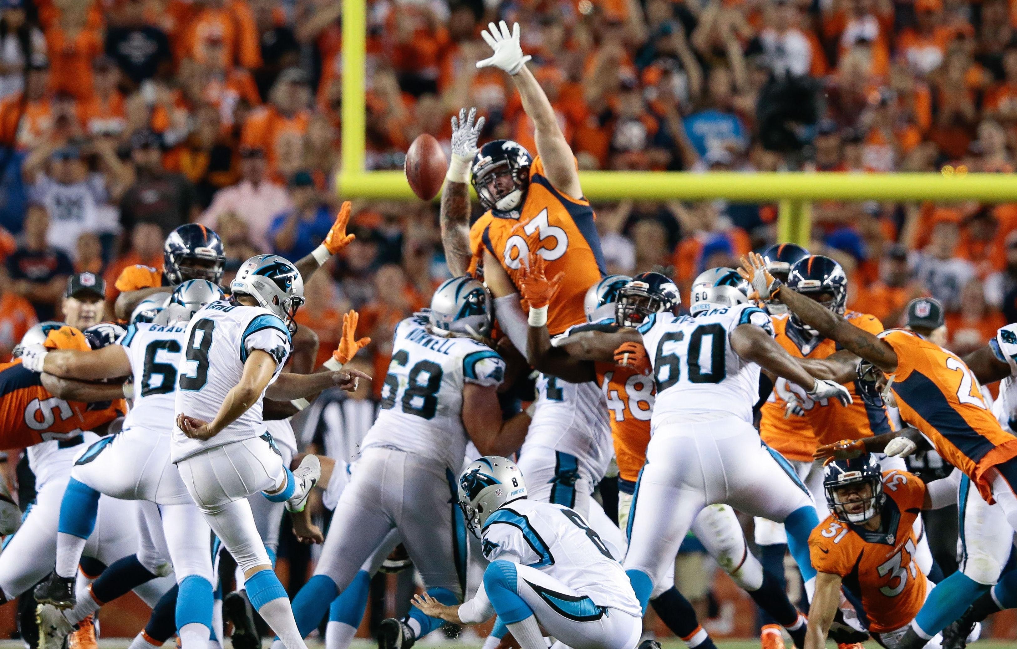 Denver Broncos Win Super Bowl Rematch Over Carolina Panthers within Broncos Panthers Super Bowl