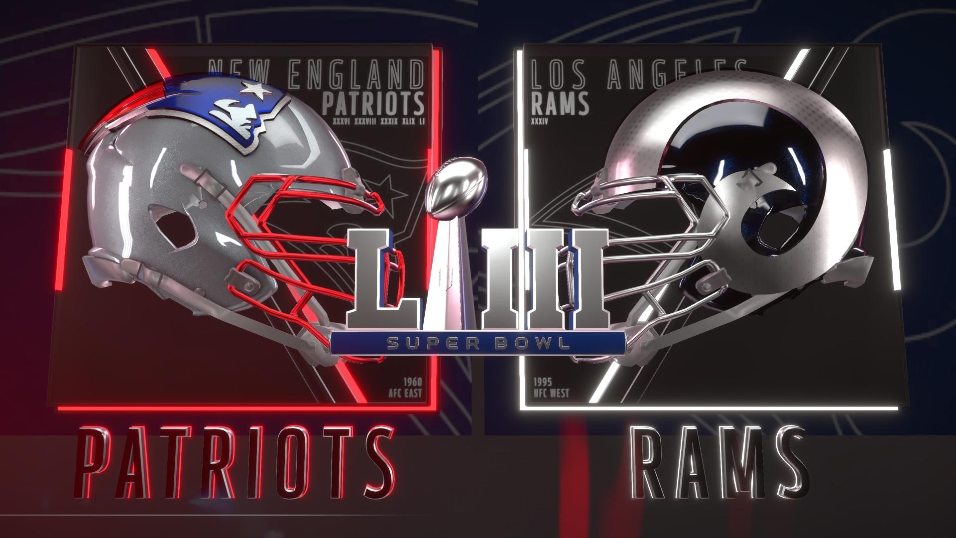 Der Super Sunday Steht Vor Der Tür! - Super Bowl Preview Von intended for Pats Rams Super Bowl