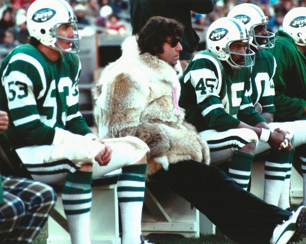Details About New York Jet Broadway Joe Namath In His regarding Joe Namath Super Bowl