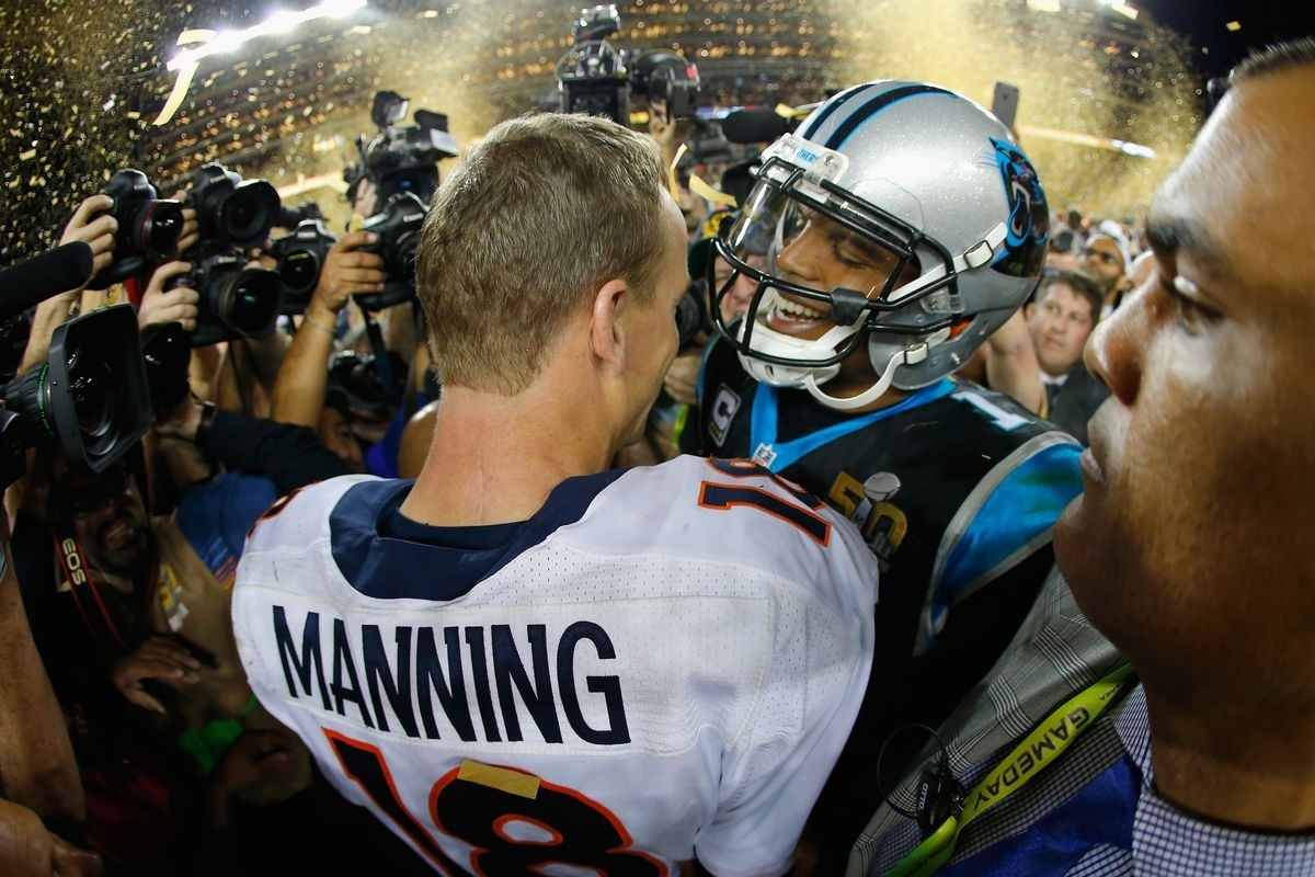 Don't Think Cam Newton Is Humble? Just Ask Peyton Manning. - Vox within Cam Newton Super Bowl