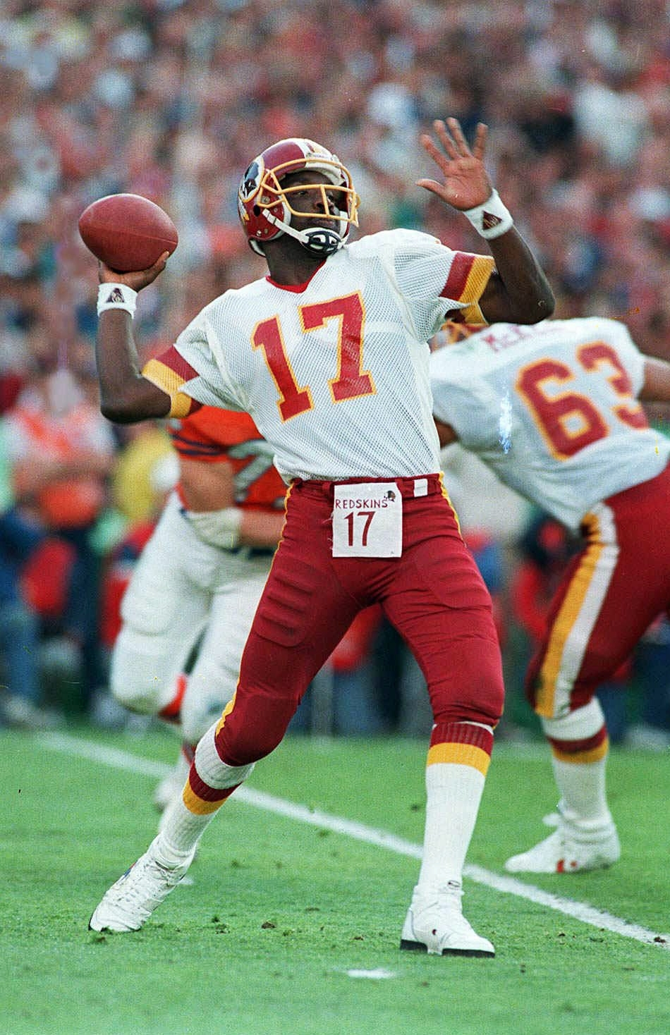 Doug Williams Sees 'progress' 30 Years After Becoming First pertaining to Doug Williams Super Bowl