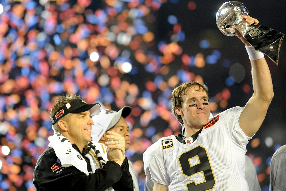 Drew Brees Has Helped Rebuild New Orleans After Hurricane within Drew Brees Super Bowl
