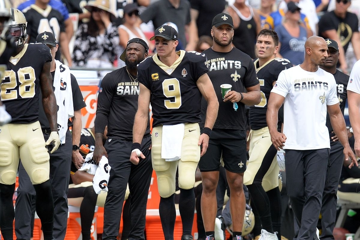 Drew Brees Thumb Injury Results In Changes To Super Bowl 54 with regard to Drew Brees Super Bowl
