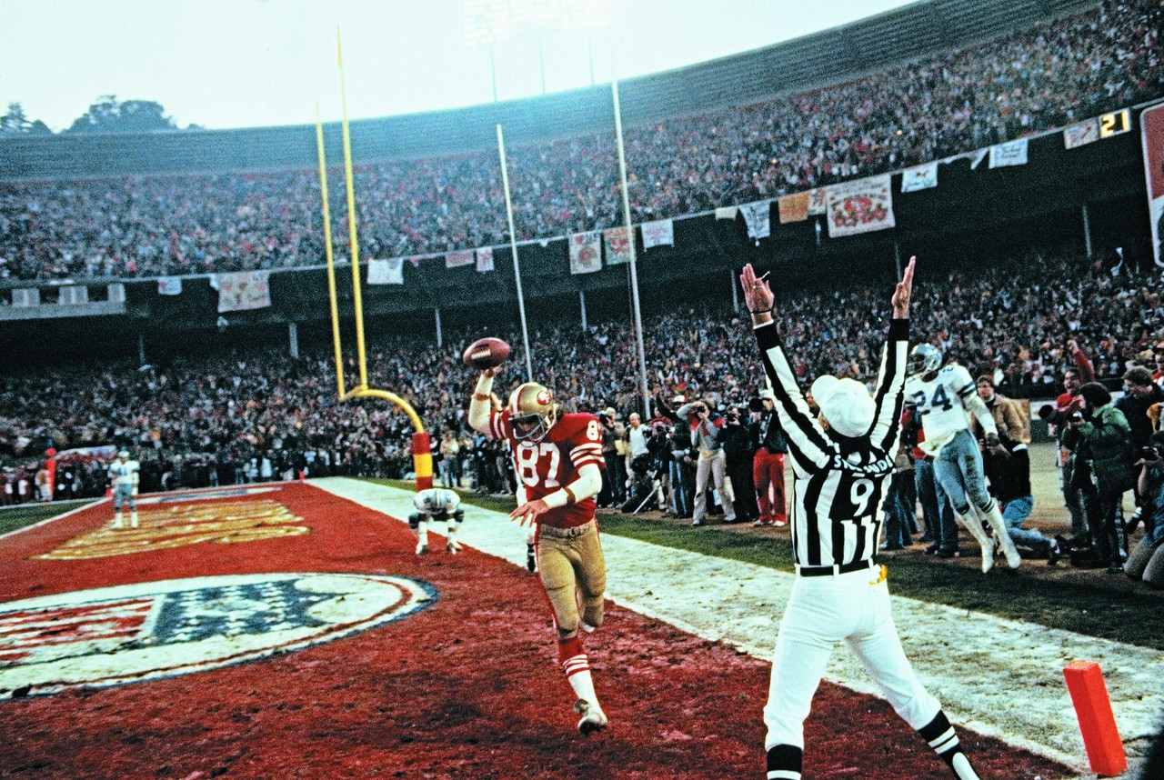 Dwight Clark Through The Years | Nfl throughout San Francisco 49Ers Nfl Championships 1985