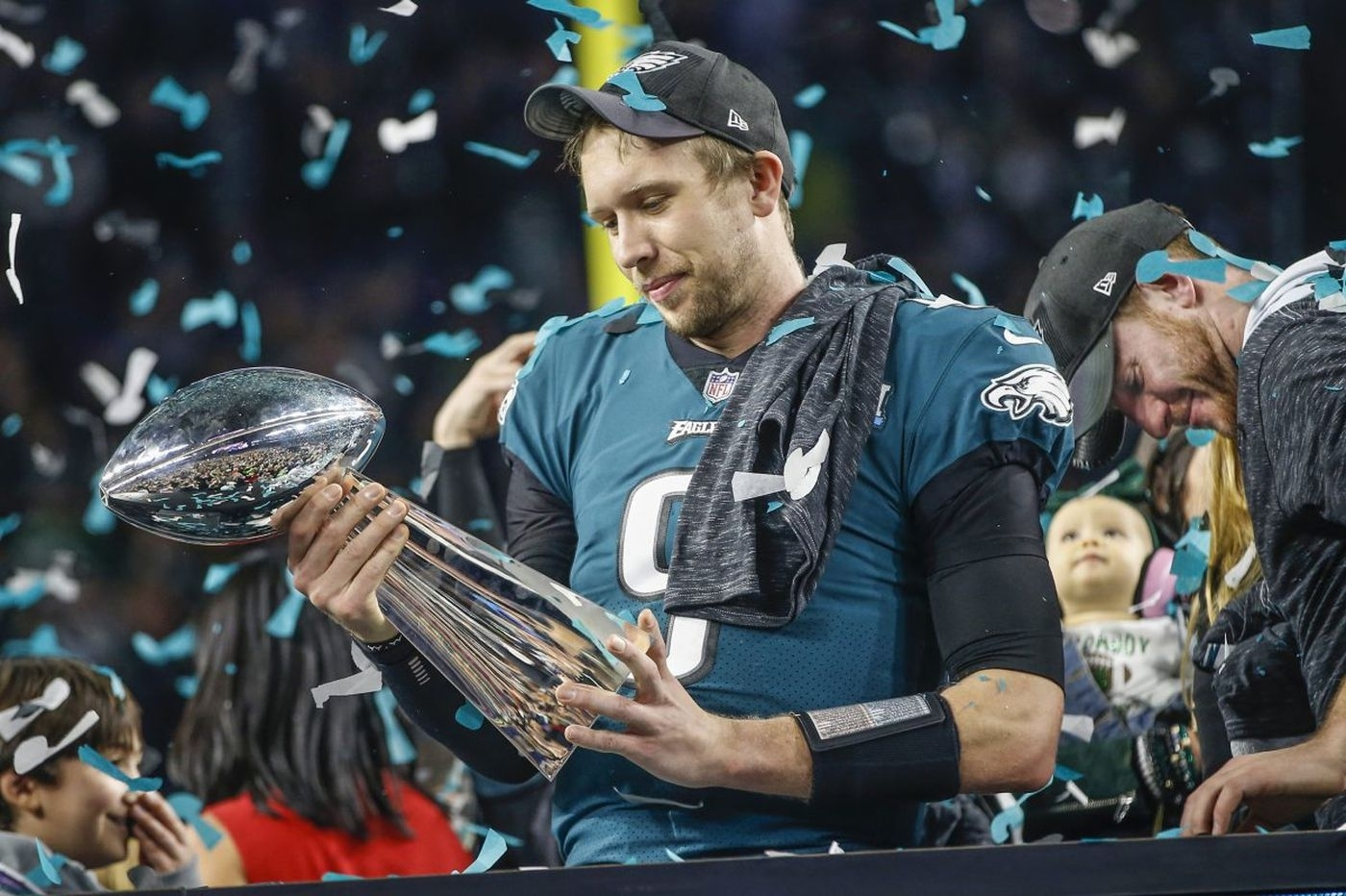 Eagles Don't Use Franchise Tag On Nick Foles, Officially intended for Nick Foles Super Bowl