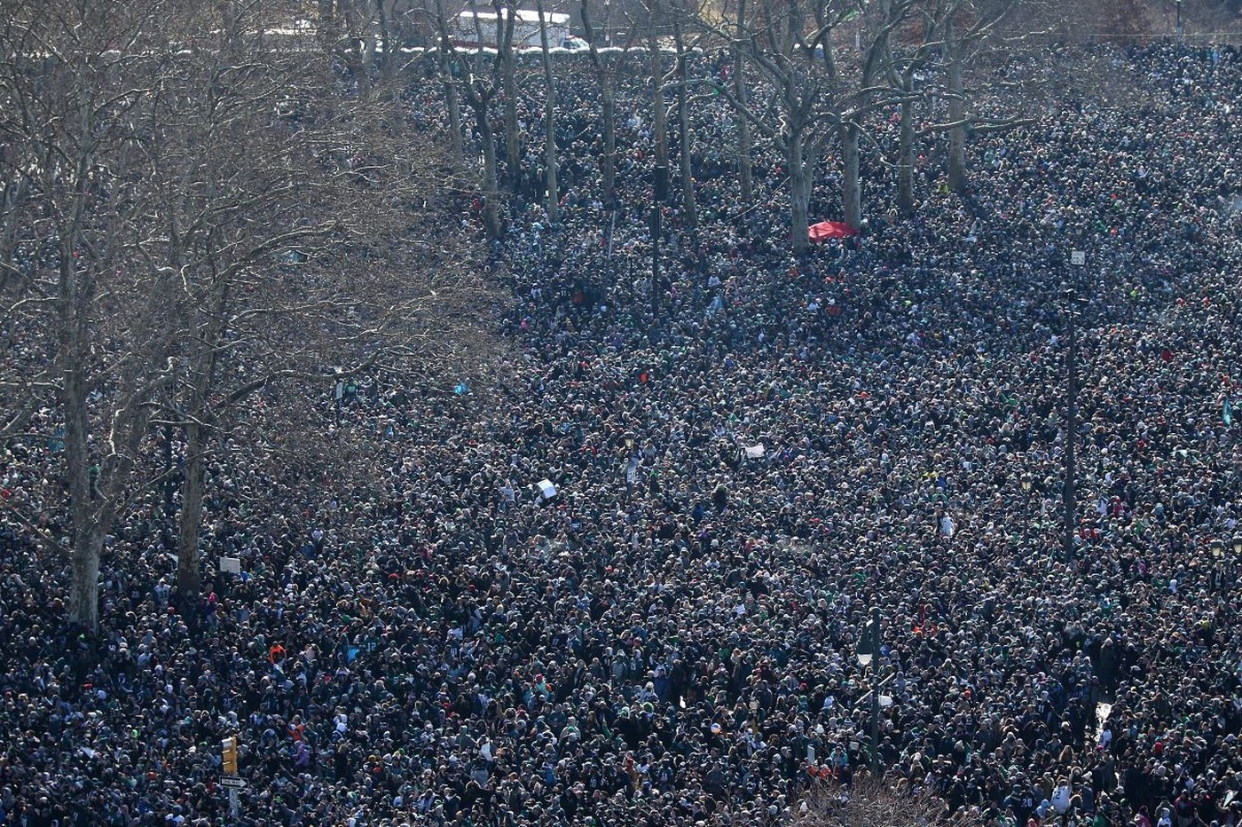Eagles Parade Attendance: Close To 700,000, Experts Say pertaining to Super Bowl Attendance 2018