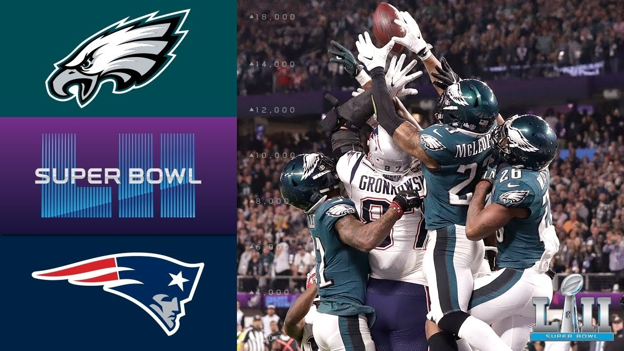 Eagles Vs. Patriots | Super Bowl Lii Game Highlights within Last Year Super Bowl 2018