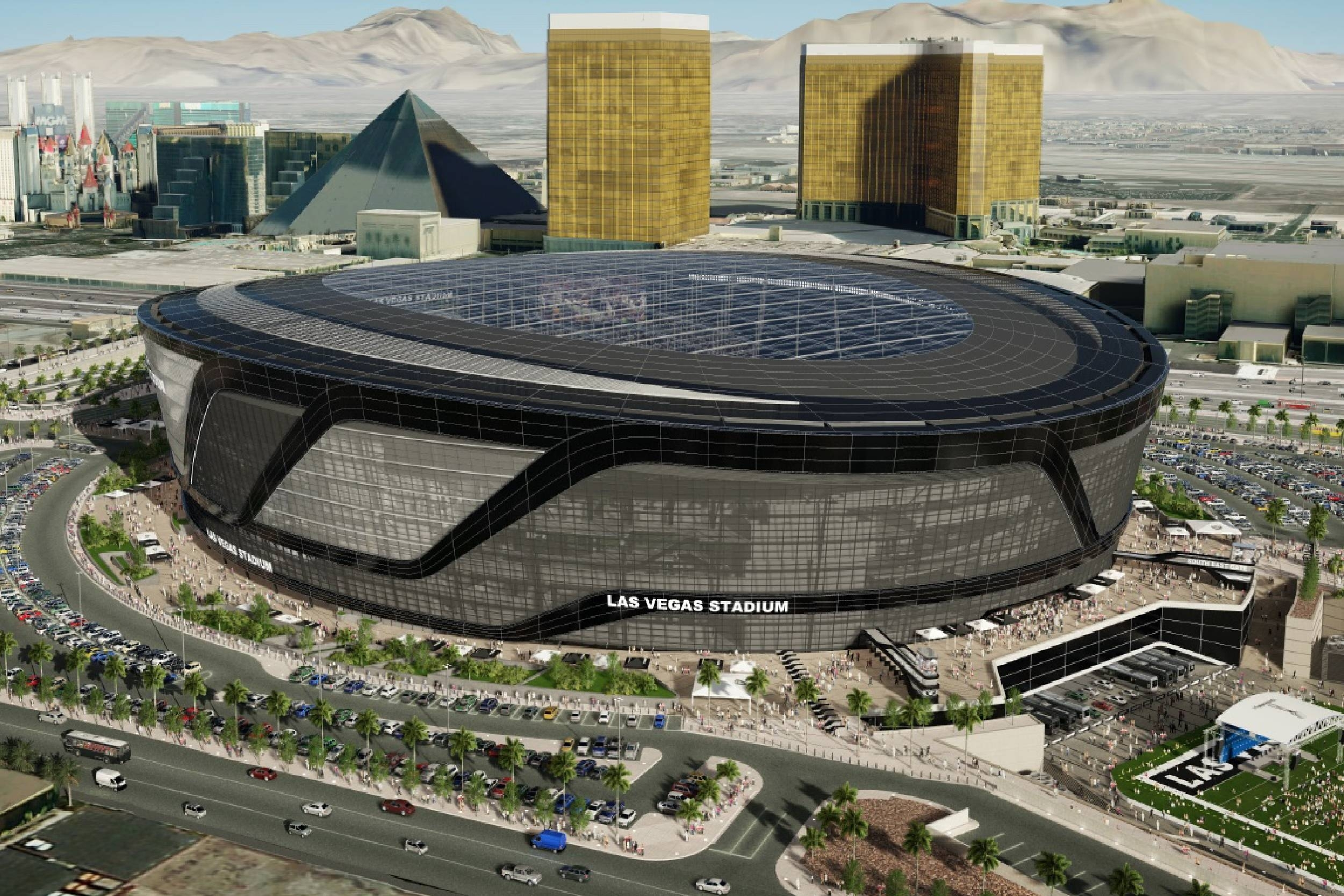 Exclusive: New Stadium Plans Reveal Super Bowl Configuration intended for Super Bowl Seating Capacity Requirements