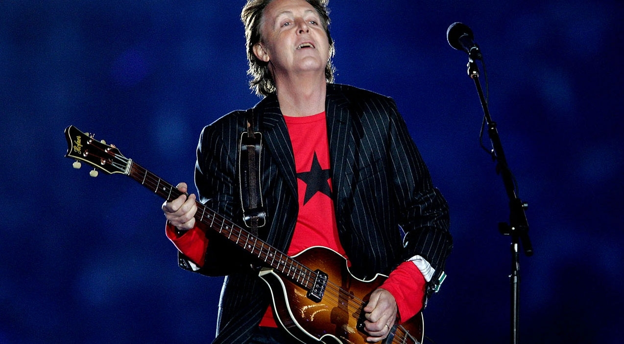 Flashback To When Paul Mccartney Took His Rightful Place At throughout Paul Mccartney Super Bowl