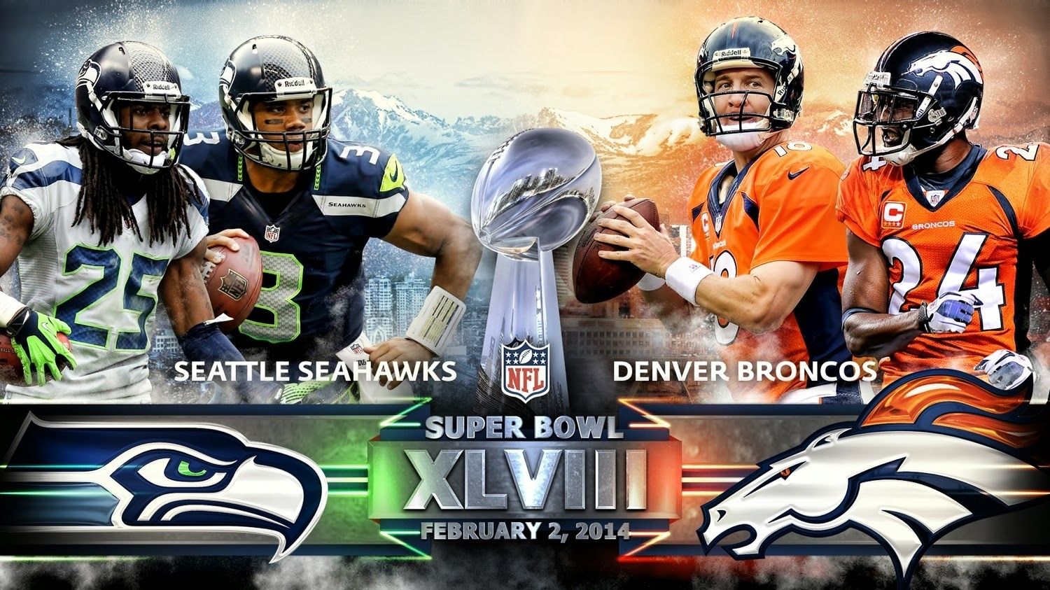 Food4Thawt: My Comparison Of The Super Bowl 48 Teams And for Last Year Super Bowl