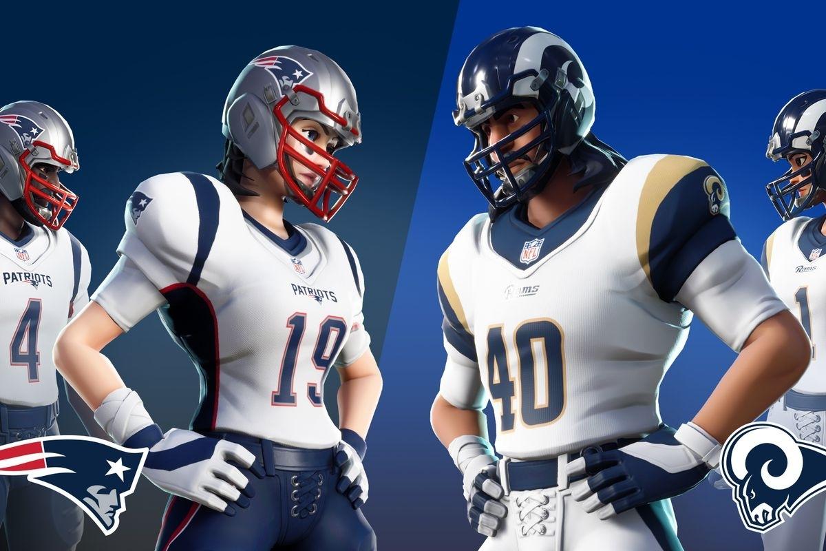Fortnite Nfl Skins Return For Super Bowl Liii - Polygon inside Nfl Super Bowl Liii