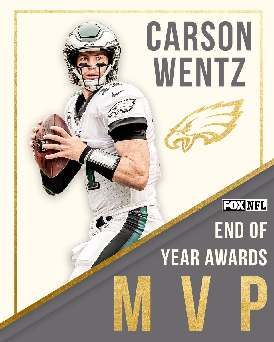 """Fox Sports: Nfl On Twitter: """"the Votes Are In @eagles Qb for Vote For Mvp Super Bowl 50"""