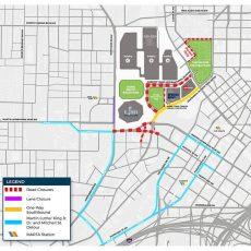 Getting Around Atlanta For Super Bowl Liii inside Super Bowl Road Map