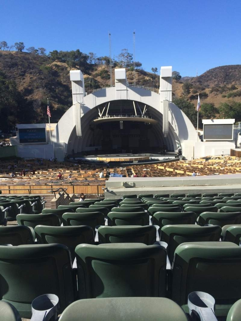 Hollywood Bowl, Section G1 regarding Hollywood Bowl Seating Chart Super Seats