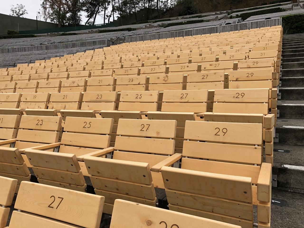 Hollywood Bowl Super Seats Get A Makeover - Hollywood Bowl Tips pertaining to Hollywood Bowl Seating Chart Super Seats