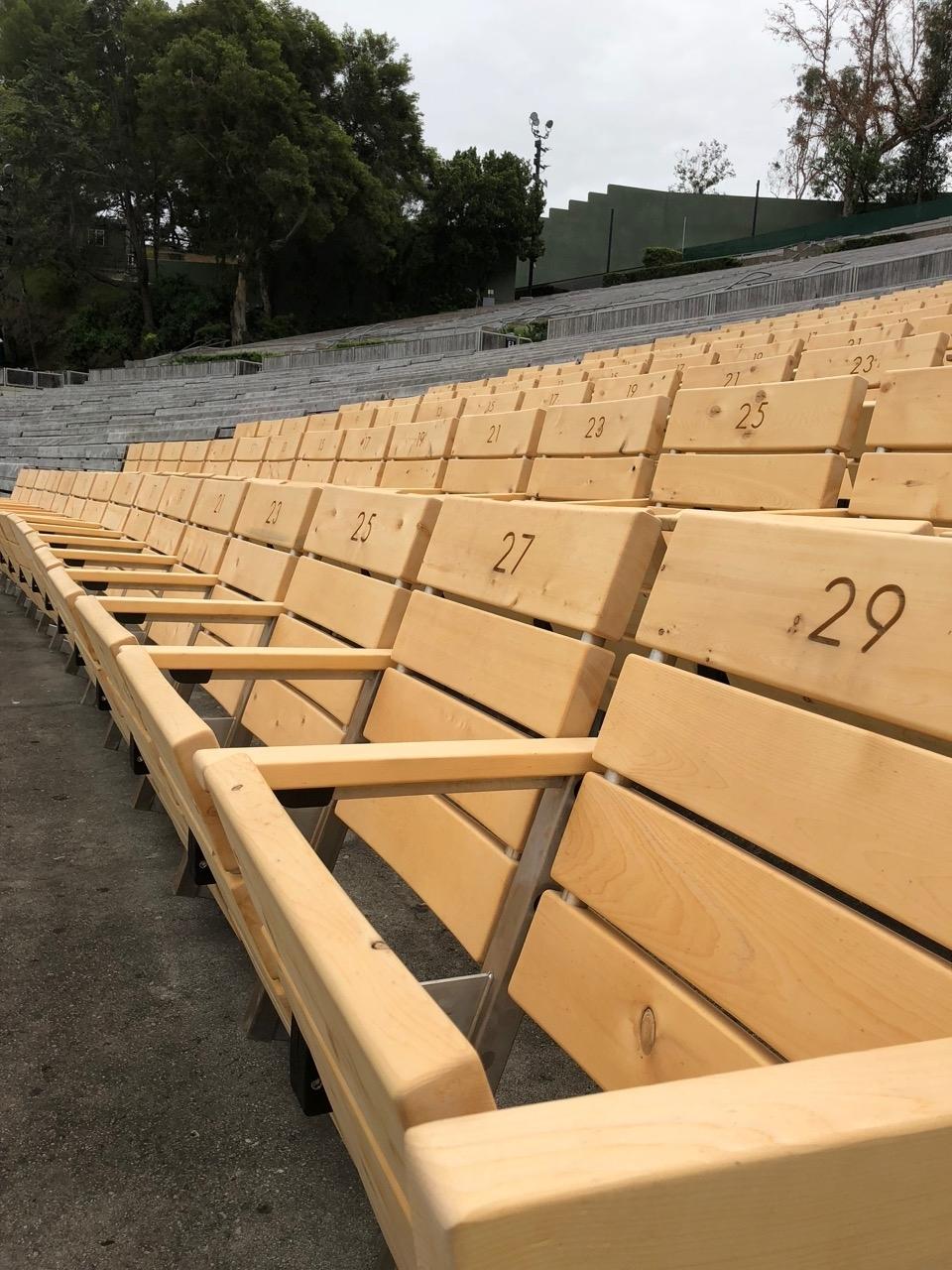 Hollywood Bowl Super Seats Get A Makeover - Hollywood Bowl Tips within Hollywood Bowl Seating Chart Super Seats