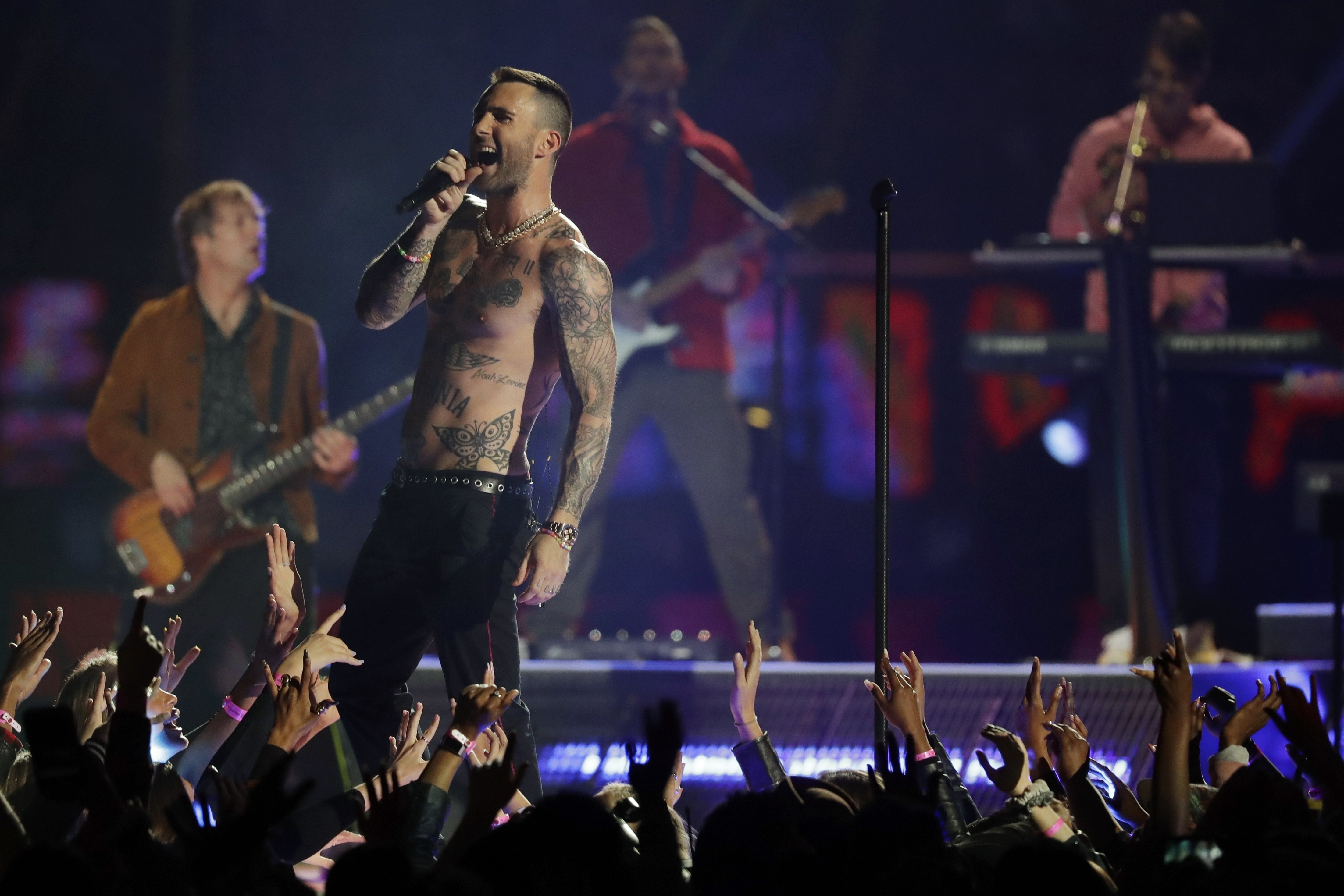 How Did Maroon 5 Do As Headliner For The Super Bowl Halftime intended for Maroon Five Super Bowl