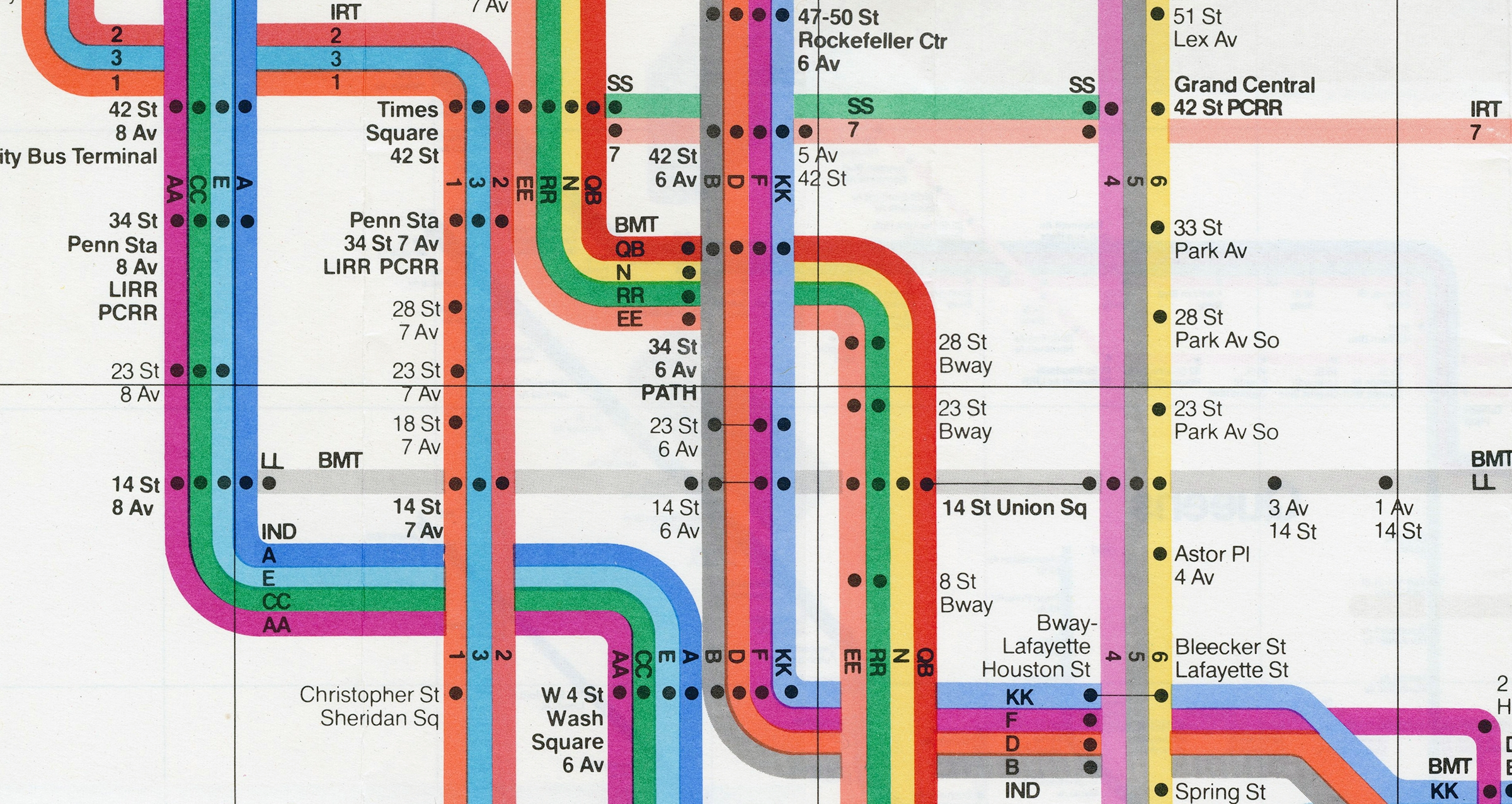 How Vignelli's Design Still Influences Nyc's Subway Maps Today intended for Vignelli Super Bowl Map