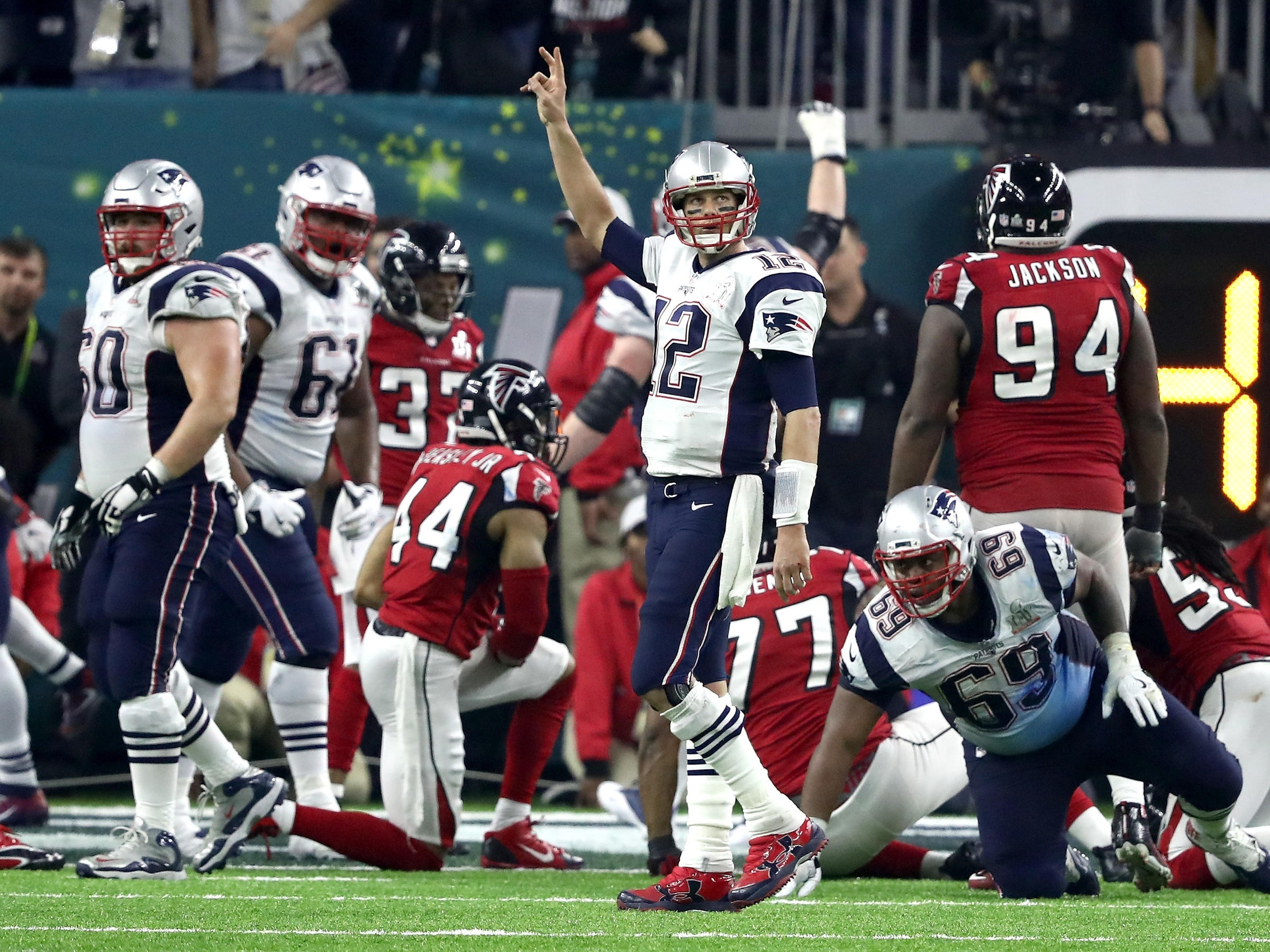 In A Comeback For The Ages, New England Patriots Win Super regarding New England Super Bowls