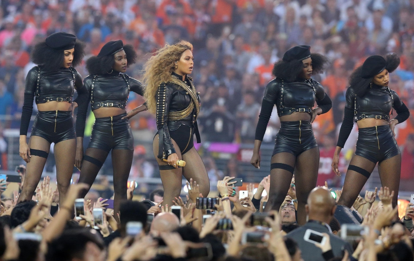 In Defense Of Beyoncé's Black Panther Tribute At The Super intended for Beyonce Super Bowl 2016