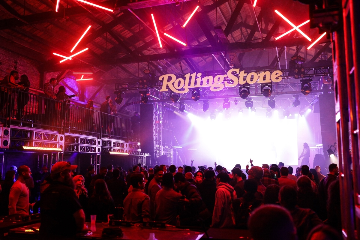 Inside The Rolling Stone Live: Atlanta Super Bowl Party At with Rolling Stones Super Bowl