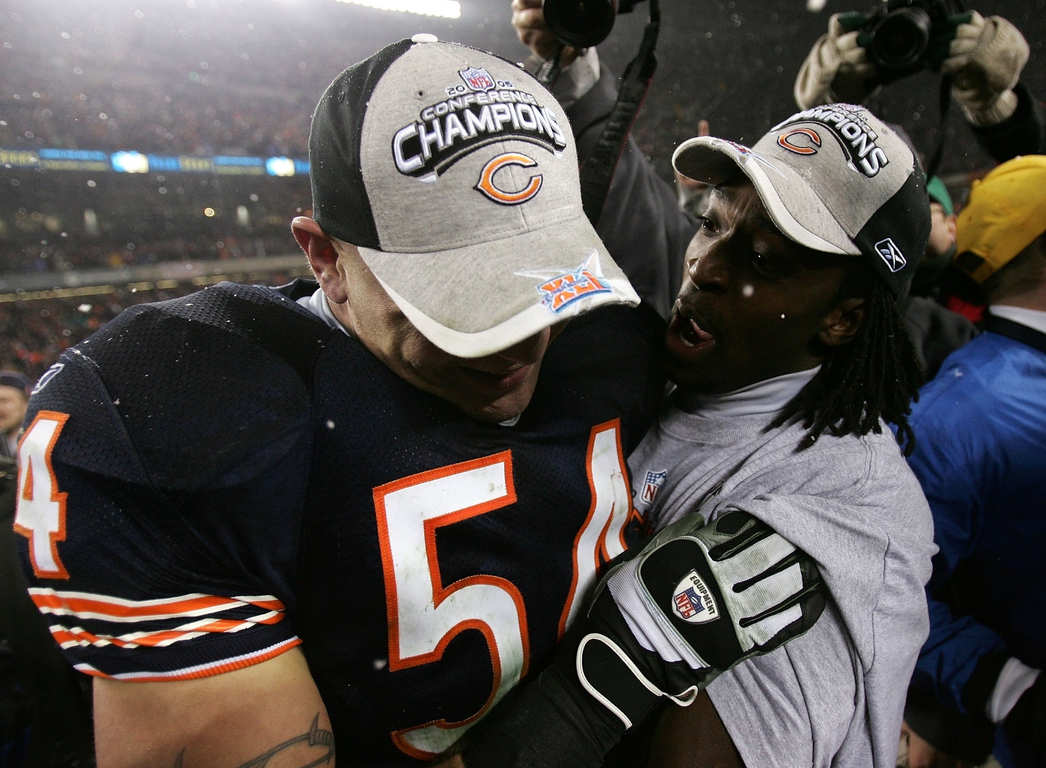 Jan. 21, 2007: Bears Advance To Second Super Bowl - Chicago intended for Bears Super Bowl 2007