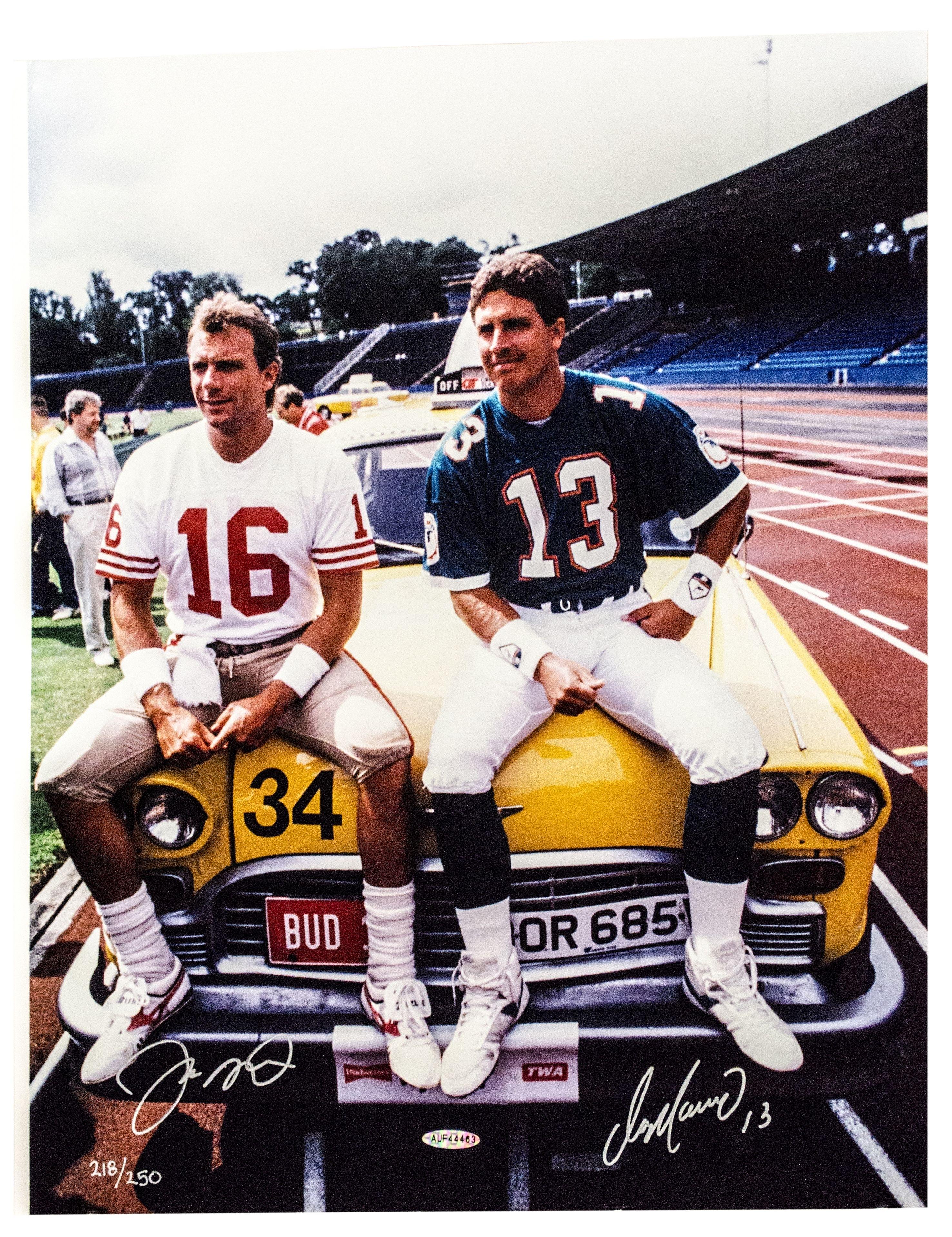 Joe Montana And Dan Marino Super Bowl Xix 1985 : Oldschoolcool pertaining to Dan Marino Super Bowl