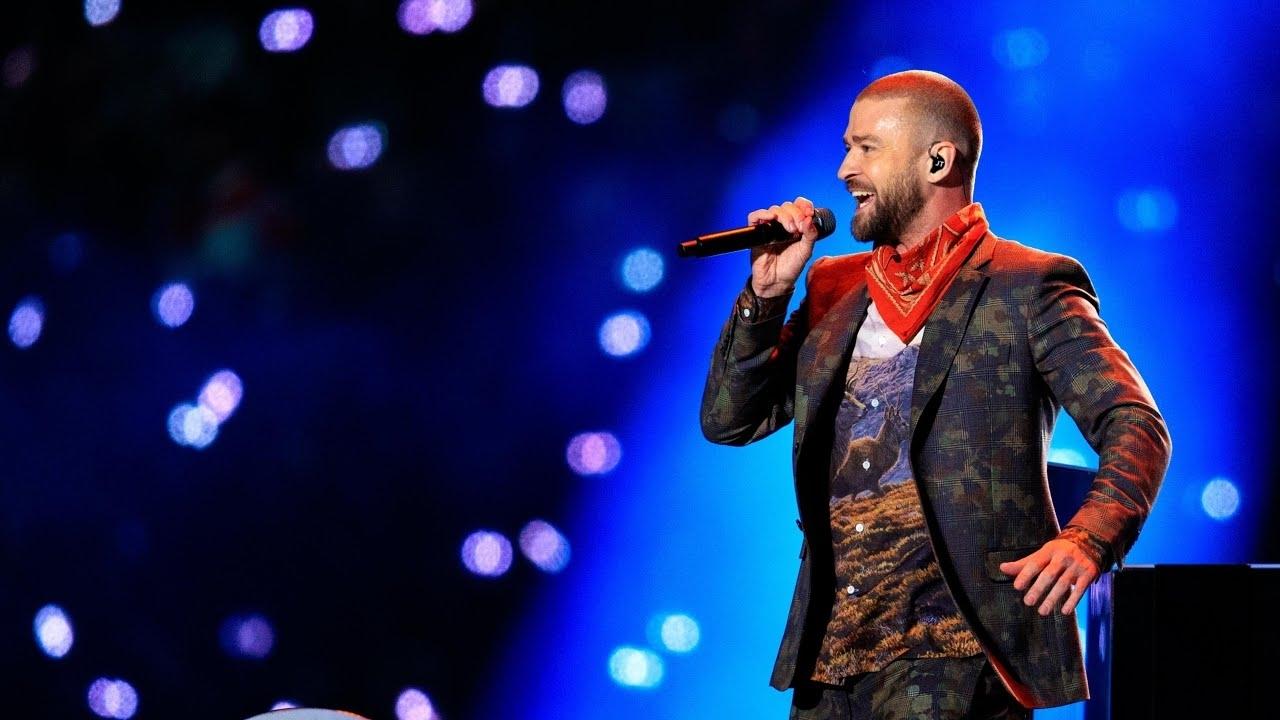 Justin Timberlake Covers Prince At Super Bowl Half-Time Show in Justin Timberlake Super Bowl 2018