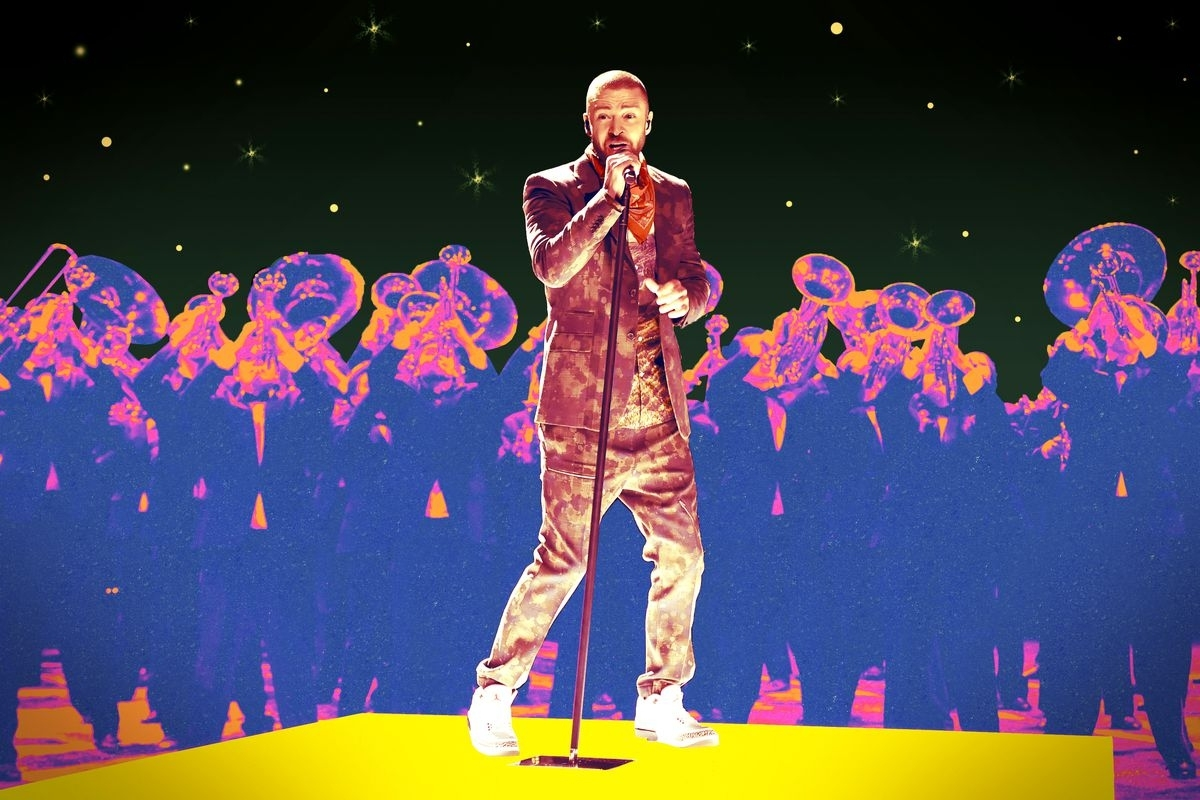 Justin Timberlake's Super Bowl Halftime Show Was Fine. Just with Justin Timberlake Super Bowl