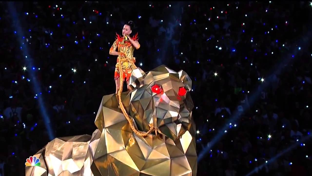 Katy Perry - Roar Live At Super Bowl Halftime Show 2015 (Hd) intended for Katy Perry Super Bowl