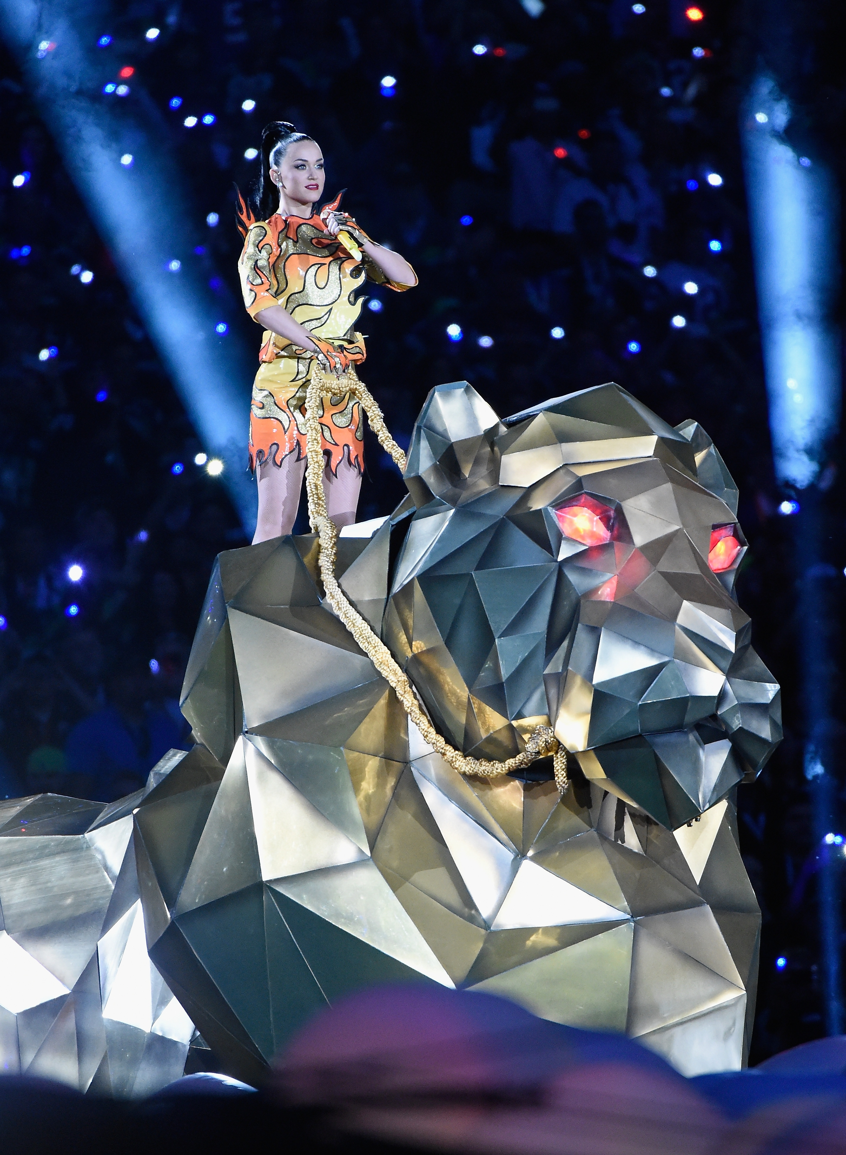 Katy Perry's Super Bowl Halftime Performance! within Katy Perry Super Bowl