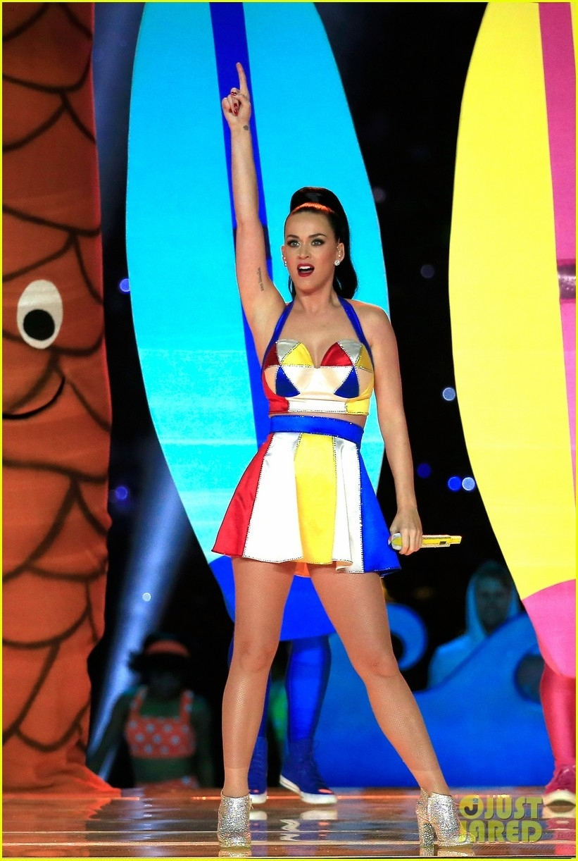 Katy Perry's Super Bowl Halftime Show 2015 Video - Watch Now throughout Katy Perry Super Bowl