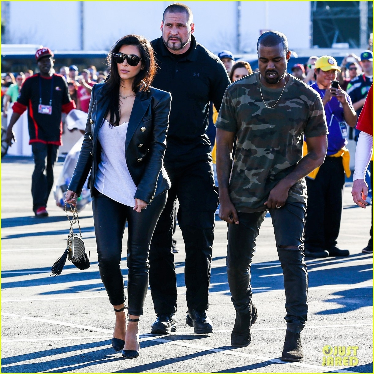 Kim Kardashian & Kanye West Are Anything But Sad For The with regard to Kanye West Super Bowl