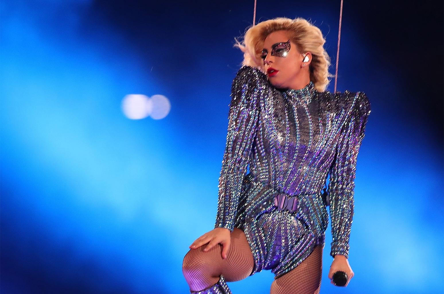 Lady Gaga's Super Bowl Roof Jump & Drones Were Pre-Recorded regarding Lady Gaga Super Bowl 2018