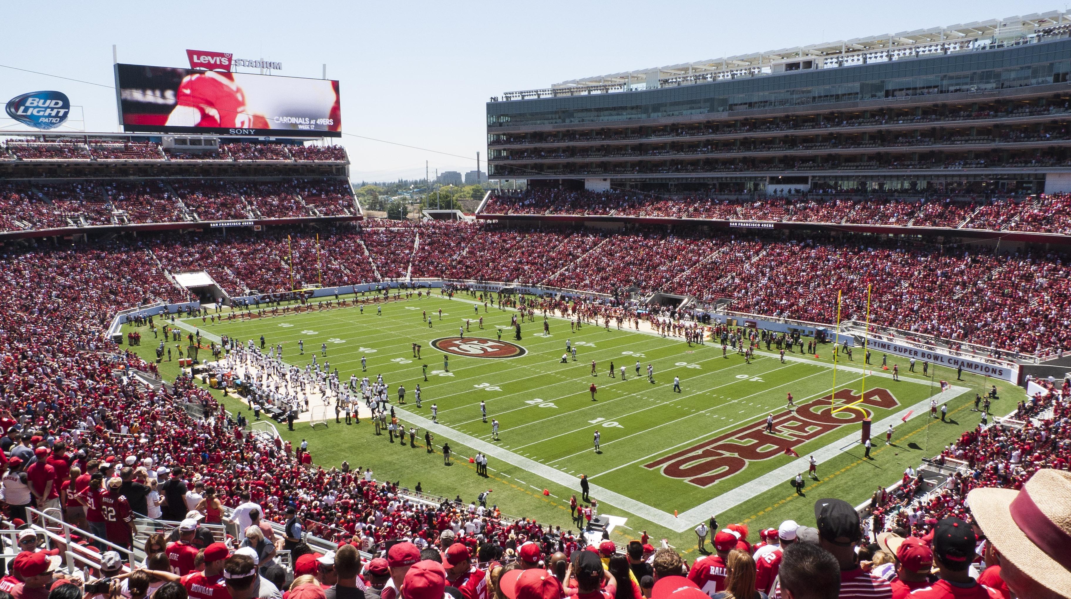 Levi's Stadium - Wikipedia regarding Super Bowl Stadium Address