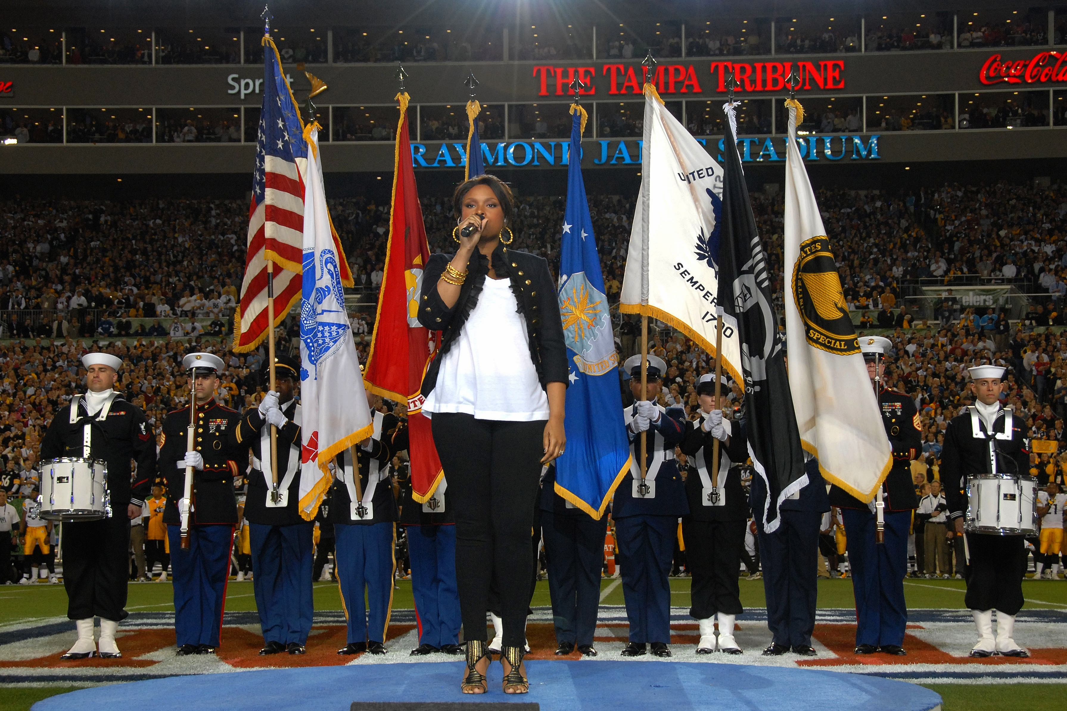 List Of National Anthem Performers At The Super Bowl - Wikipedia with regard to Super Bowl Star Spangled Banner 2019