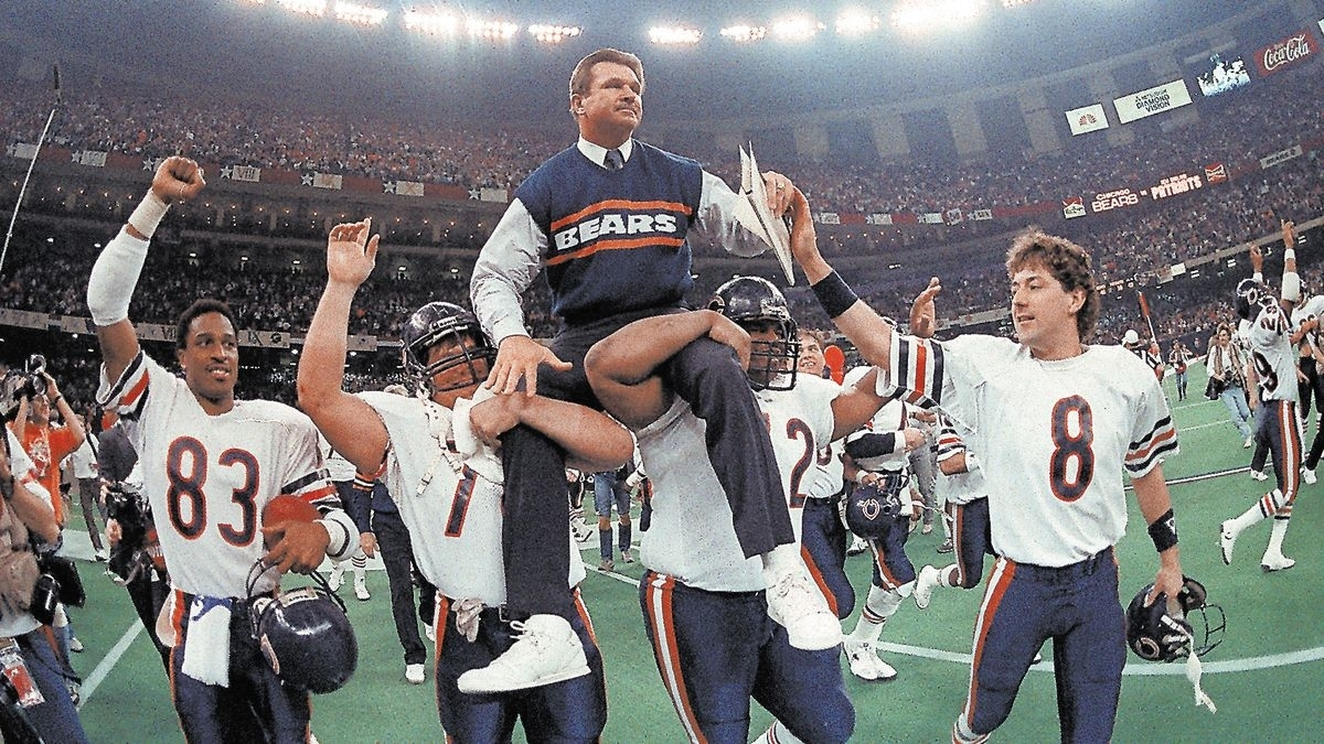 Listing The 100 Most Memorable Moments In Bears History with Bears Last Super Bowl