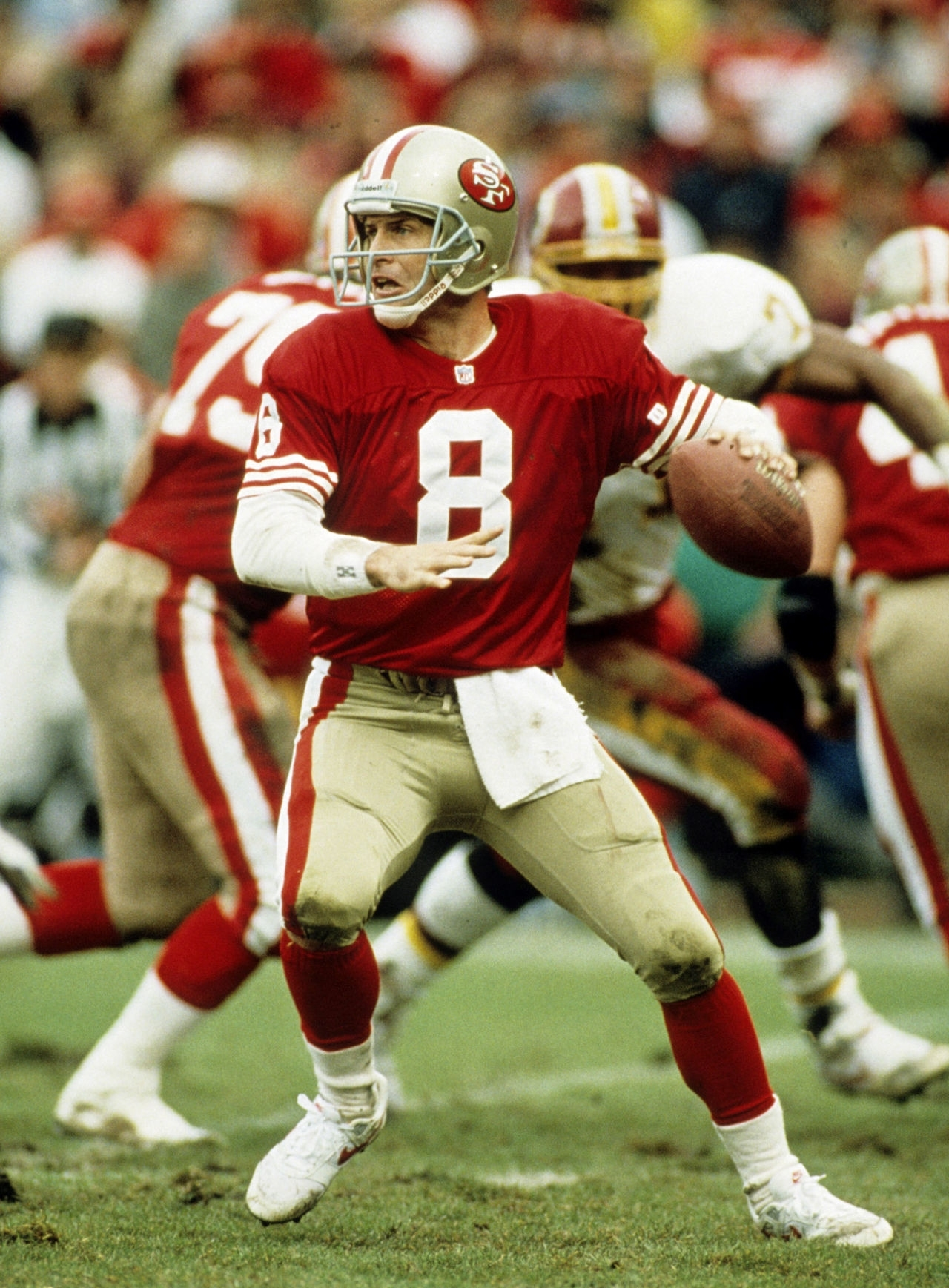Logan's Sports Ratings: Top 50 Nfl Quarterbacks: #9 - Steve within Steve Young Super Bowl