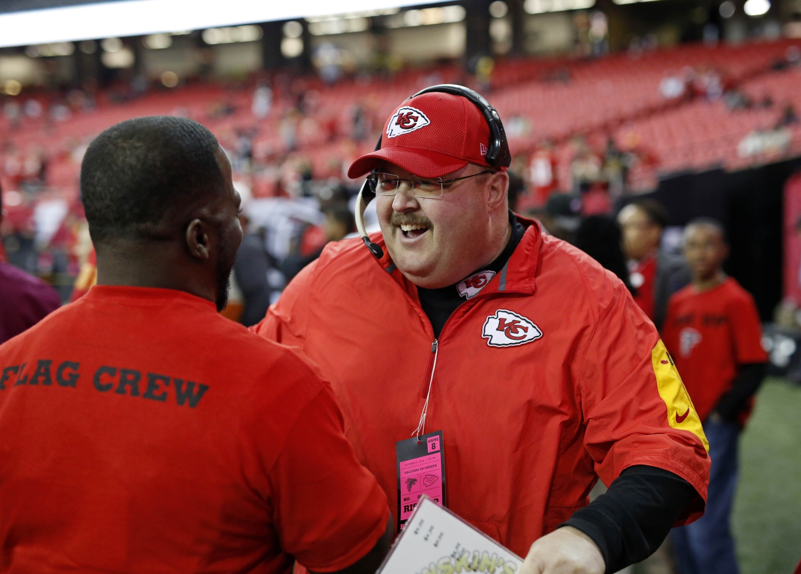 Look: Fake Andy Reid Got Chiefs Super Bowl Liv Tattoo in Andy Reid Super Bowl