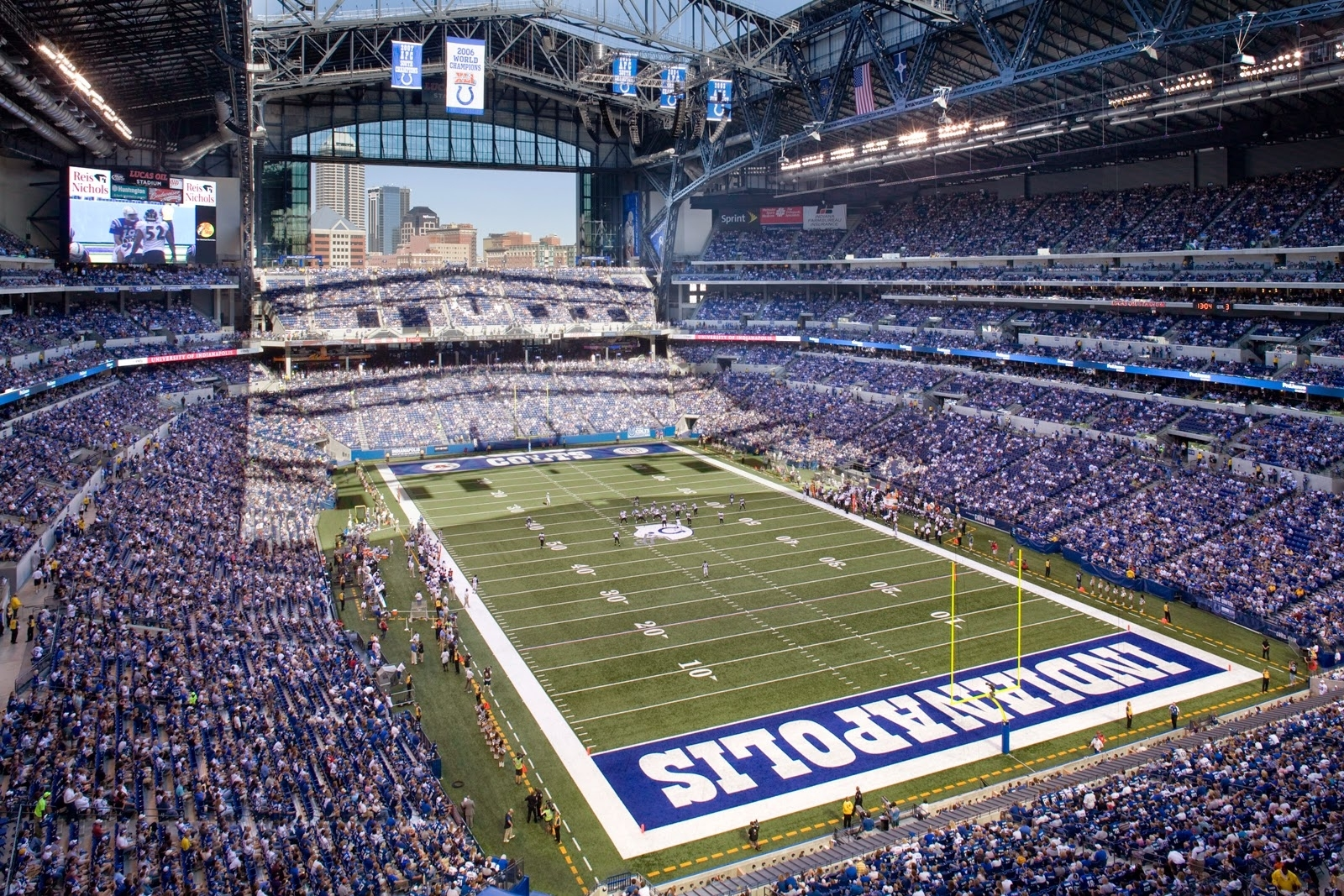 Lucas Oil Stadium – Indianapolis Colts ~ Cast Screen with regard to Minimum Seating Capacity For Super Bowl